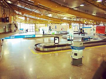 Terminal - Gepäck-Karussel