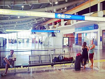 Terminal - Ankunftshalle
