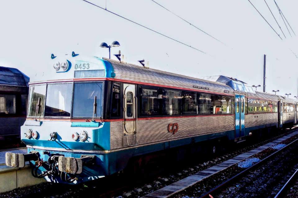 Zug in Faro City Station