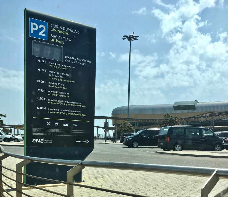 Park P2 - Ankünft