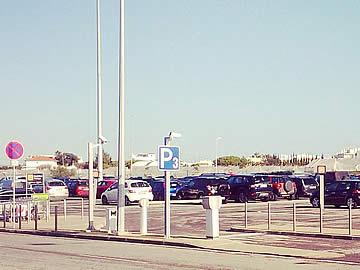 Parkplätze im Park P3