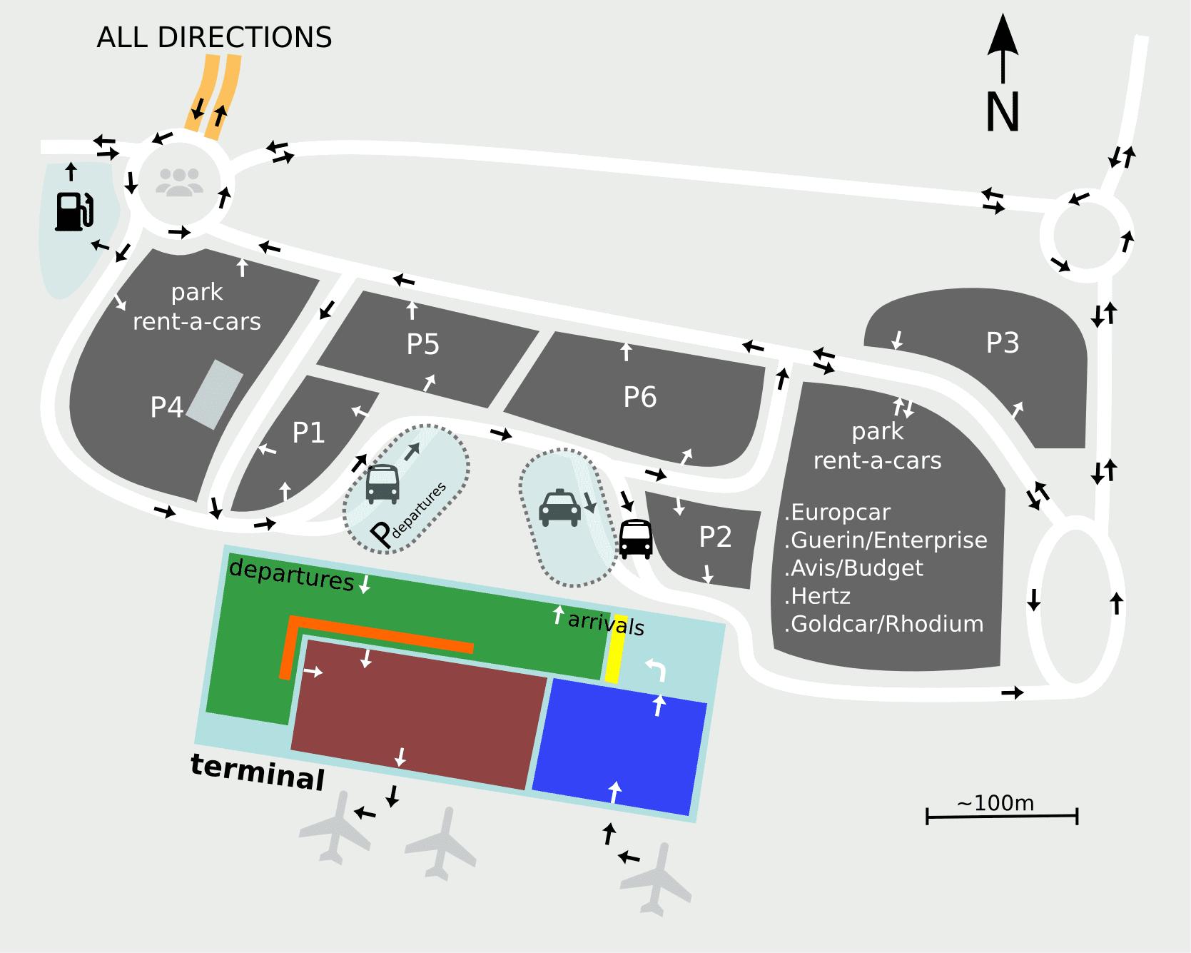 Terminal karte